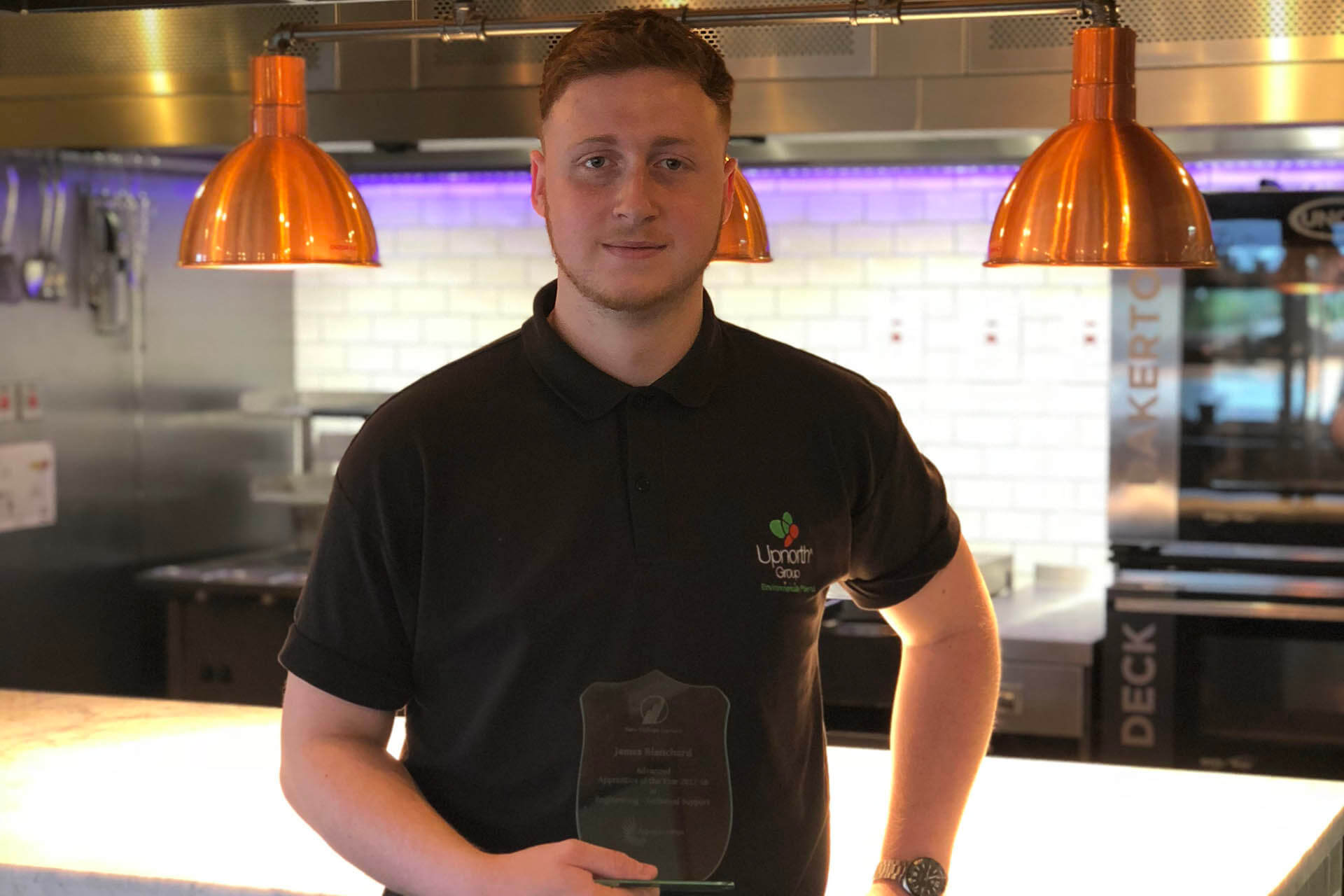James Awarded Apprentice of the Year